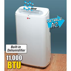 LG Portable Air Conditioner  Model# LP1111WXR