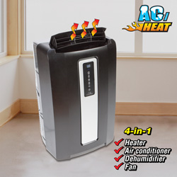 Commercial Cool Portable A/C &amp; Heater&nbsp;&nbsp;Model#&nbsp;CPF12XHL-EBR