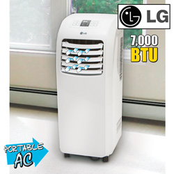 LG Portable Air Conditioner&nbsp;&nbsp;Model#&nbsp;LP0710-RB