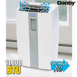 Danby Portable Air Conditioner  Model# DPA110DA1GP