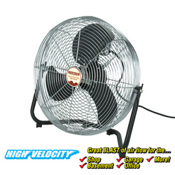 20 inch High Velocity Floor Fan  Model# 60801020