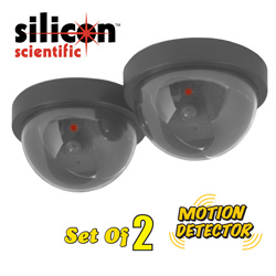 2-Pack Simulated Security Cams  Model# FX-3105