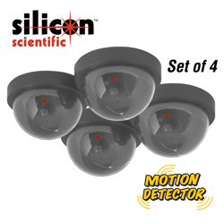4 Pack Simulated Security Cameras
