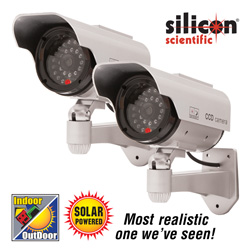 Simulated Security Cameras - Set of 2  Model# ANKE A-61