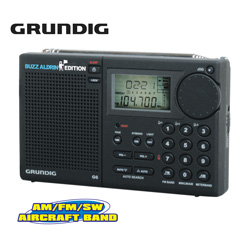 Grundig Aviator G6 Radio  Model# BUZZ ALDRIN G6