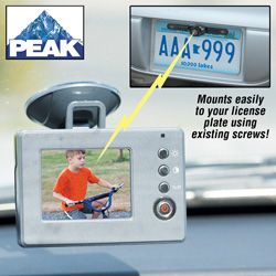Peak Back-Up Camera Kit&nbsp;&nbsp;Model#&nbsp;PKCORA-01