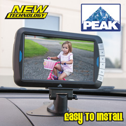 Peak Wireless Back-Up Camera  Model# PKC0BU7