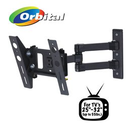 Adjustable 25 - 32 Inch Wall TV Mount  Model# REL204B-F