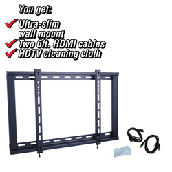 32-60 inch 5-piece TV Wall Mount Kit  Model# 18053