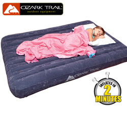 Ozark Trail Fast Fill Full Airbed  Model# D-67791WW