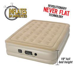 Queen Insta-Bed with Never Flat  Model# 840017