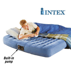 Intex Comfort-Top Queen Airbed&nbsp;&nbsp;Model#&nbsp;67976RR