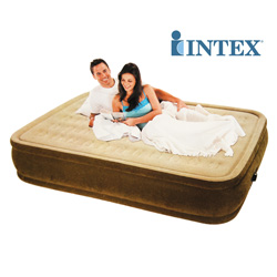 Intex Raised Comfort Top Airbed&nbsp;&nbsp;Model#&nbsp;67773RR