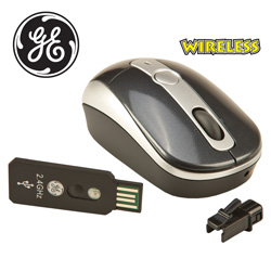 GE Wireless Mini Presenter Mouse  Model# GE98505