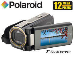Polaroid Projector Camcorder  Model# ID940-BLK/KIT-AMX