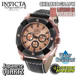 Invicta Rose Gold Watch  Model# 7291