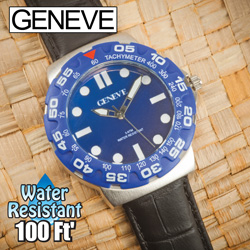 Geneve Blue Divers Watch  Model# 56446B