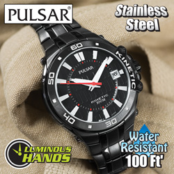 Pulsar Kinetic Watch&nbsp;&nbsp;Model#&nbsp;PAR149