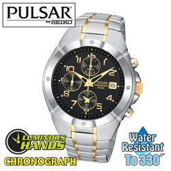 Pulsar Chronograph Watch  Model# PF8188