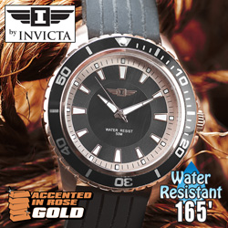 Invicta Black Dial/Rosegold Watch  Model# 43891-006