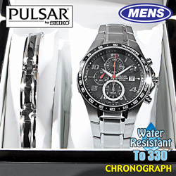 Pulsar Watch/Bracelet Set&nbsp;&nbsp;Model#&nbsp;PF8373