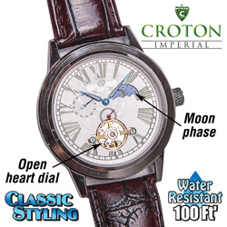 Croton Sun/Moon Auto Watch  Model# CI331070BGSL