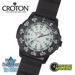 Croton Diver Watch  Model# CA301255BSDW