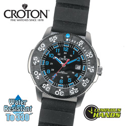 Croton Diver Watch  Model# CA301255BSBK