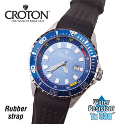 Croton Divers Sports Watch&nbsp;&nbsp;Model#&nbsp;CA301245BSBL
