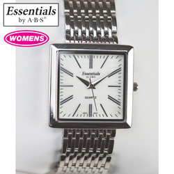 Essentials Womens Watch - White/Silvertone  Model# 40052