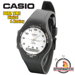 Casio Dual Time Watch  Model# 3321