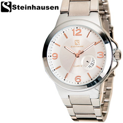Steinhausen Rosegold Calendar Watch  Model# TW852SCM