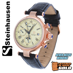 Steinhausen Calendar Watch  Model# SW391RGRV