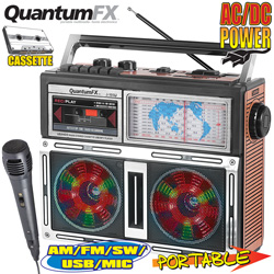 Quantum FX Portable Radio  Model# J-101U