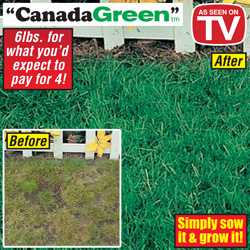 6lbs. Canada Green Grass Seed&nbsp;&nbsp;Model#&nbsp;6LBS