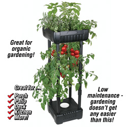 Compact Upside-Down Garden&nbsp;&nbsp;Model#&nbsp;6510TG