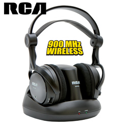 RCA Wireless Stereo Headphones  Model# WHP141B