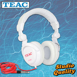 Teac Studio-Grade Headphones  Model# CT-H02-W