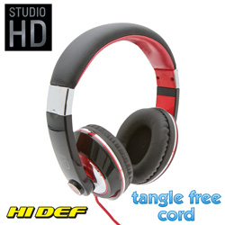 Studio HD DJ Headphones - Black  Model# STUDIOBLK