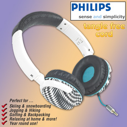Philips Snug Headband Headphones  Model# SHO8800