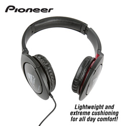 Pioneer Steez Headphones - Black&nbsp;&nbsp;Model#&nbsp;SE-MJ7211-K