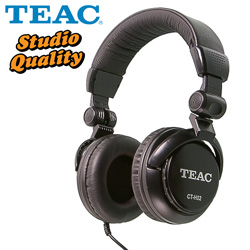 Teac Studio-Quality Headphones  Model# CT-H02-B
