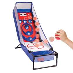 Electronic Arcade Ball Toss Game&nbsp;&nbsp;Model#&nbsp;4583