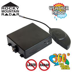 Cordless Motorcycle Radar / Laser Detector  Model# INTERCEPTOR