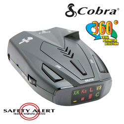 Cobra Radar/Laser Detector  Model# SSR80