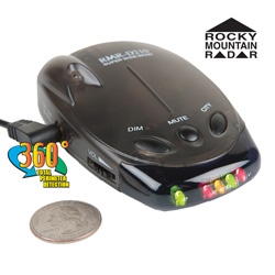 Rocky Mountain Radar Radar/Laser Detector&nbsp;&nbsp;Model#&nbsp;RMR-D210