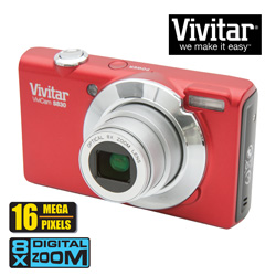Vivitar 16MP Digital Camera  Model# VS830-RED/KIT-AMX