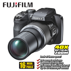 Fuji 16MP Digital Camera Kit  Model# S8200-BUNDLE