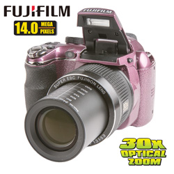 Fuji FinePix 14MP Digital Camera  Model# FUJFP-S4080-PLUM