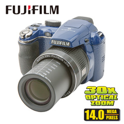 Fuji FinePix 14MP Camera  Model# FUJFP-S4080 NAVY